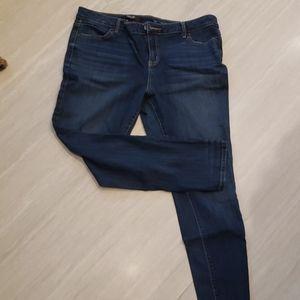 Vera Wang simply vera skinny jeans